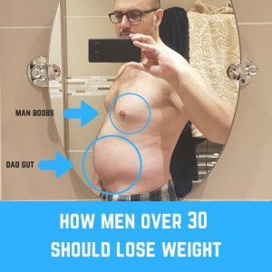 How Men Over 30 Should Lose Weight